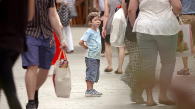 Jak nie zgubić dziecka na przedświątecznych zakupach? - Zdjęcie główne