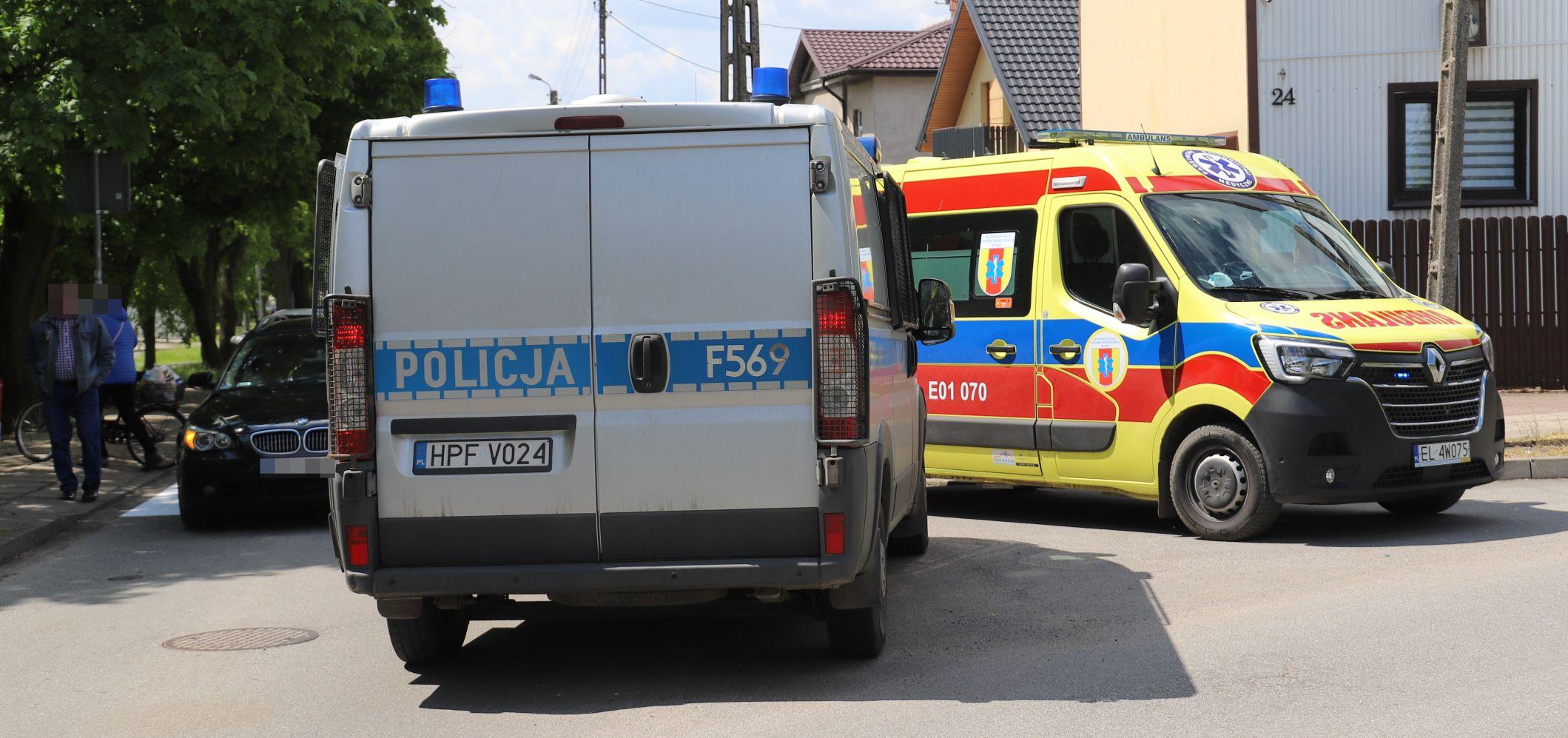 """Policjanci z Kutna pomogli kobiecie i jej synkowi. """"To ludzie Anioły"""" - Zdjęcie główne"""