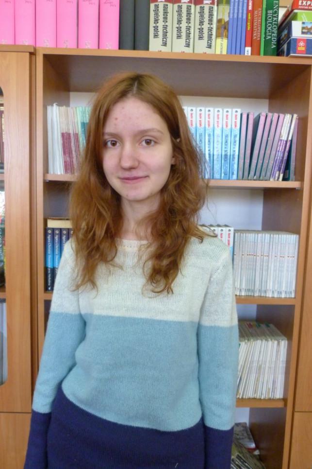 Oliwia Gęsiarz laureatką Wojewódzkiego Konkursu Przedmiotowego - Zdjęcie główne
