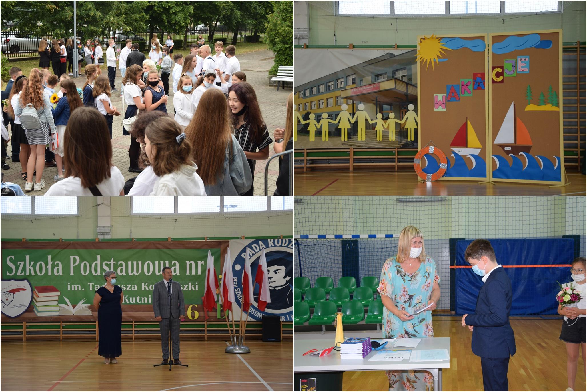 Do widzenia szkoło! Uroczyste zakończenie roku szkolnego w jednej z kutnowskich podstawówek [ZDJĘCIA] - Zdjęcie główne