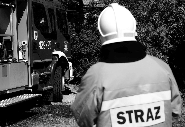 Zmarł strażak z powiatu kutnowskiego. Miał 38 lat - Zdjęcie główne