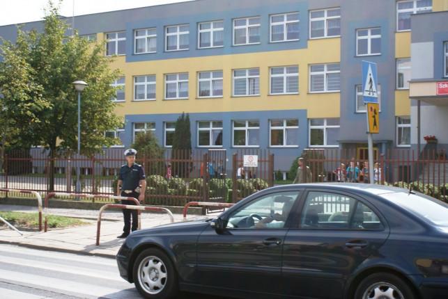 """Działania """"Bezpieczna droga do szkoły""""  - Zdjęcie główne"""