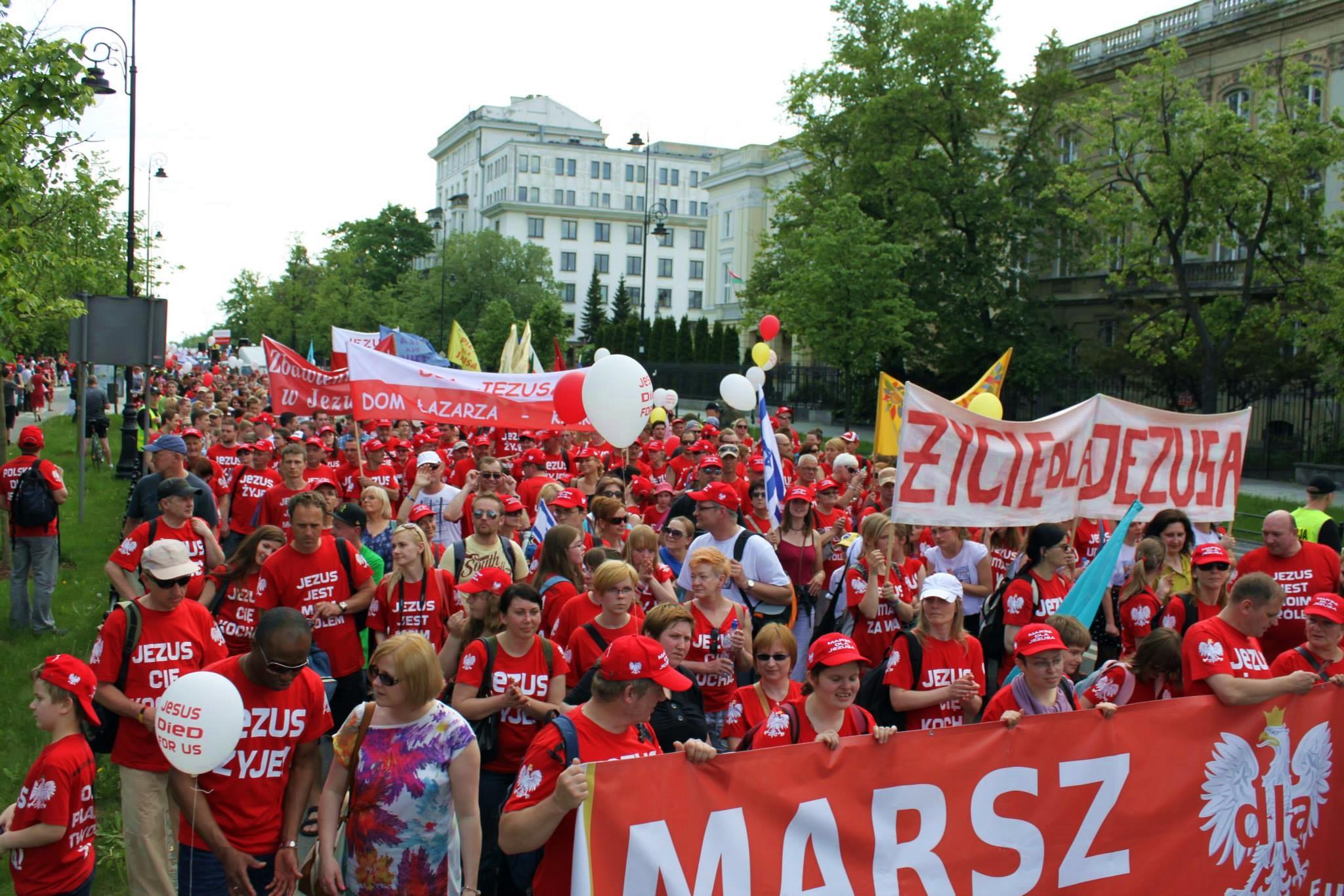 Przez Wrocław przejdzie Marsz dla Jezusa. Poprowadzi go pastor z Kutna - Zdjęcie główne