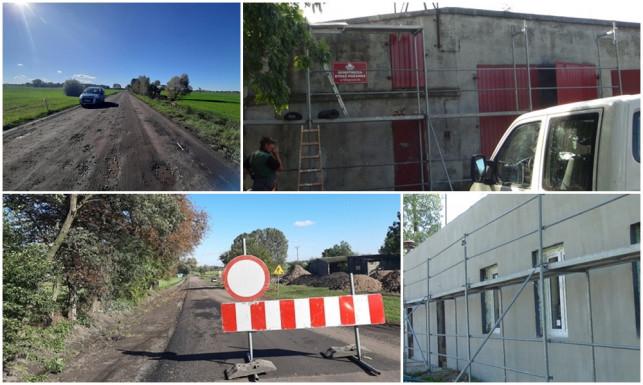 [ZDJĘCIA] Duże inwestycje w gminie Krzyżanów. Kończą termomodernizację strażnic, będzie remont drogi powiatowej - Zdjęcie główne