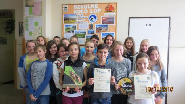 Szkolne Koło LOP w Łaniętach nagrodzone - Zdjęcie główne
