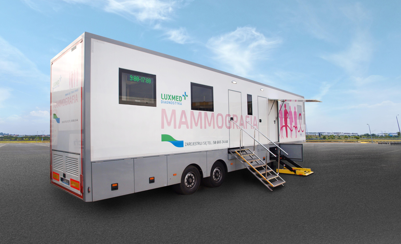 Mobilny punkt mammograficzny przyjedzie do Kutna. Zbadaj się bezpłatnie! - Zdjęcie główne