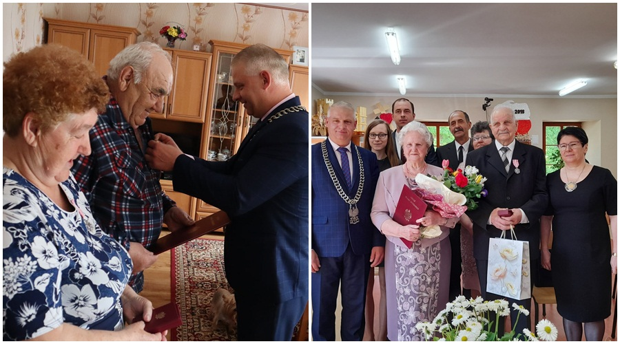 Piękne jubileusze mieszkańców powiatu kutnowskiego! Jedną z par wójt odwiedził w domu [ZDJĘCIA] - Zdjęcie główne