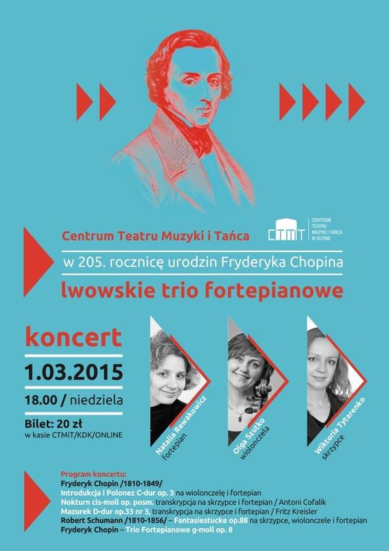 Lwowskie Trio Fortepianowe w CTMiT  - Zdjęcie główne