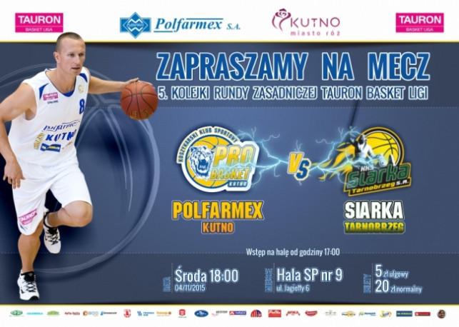 Sprzedaż biletów na mecz Polfarmex Kutno – Siarka Tarnobrzeg  - Zdjęcie główne