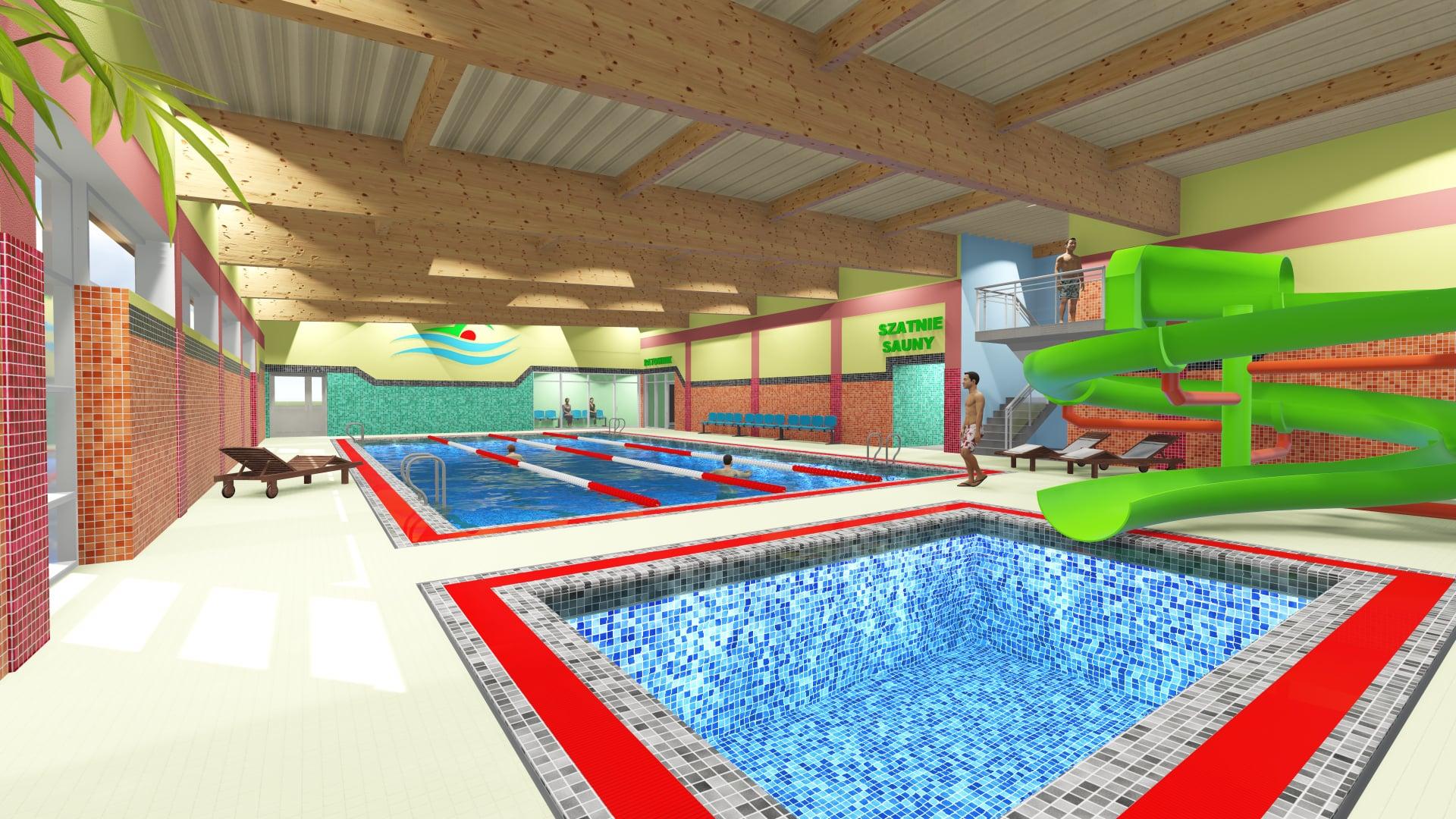 [WIZUALIZACJE] W regionie wybudują nowy basen? Ma powstać niedaleko Kutna - Zdjęcie główne
