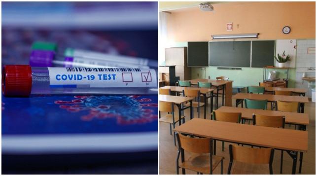 Szkoła w trybie zdalnym. Pracownik z koronawirusem - Zdjęcie główne