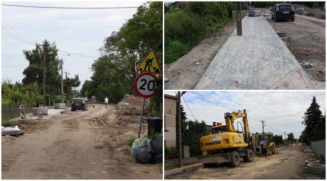 [ZDJĘCIA] Trwa remont. Jak zmienia się ulica Paderewskiego? - Zdjęcie główne
