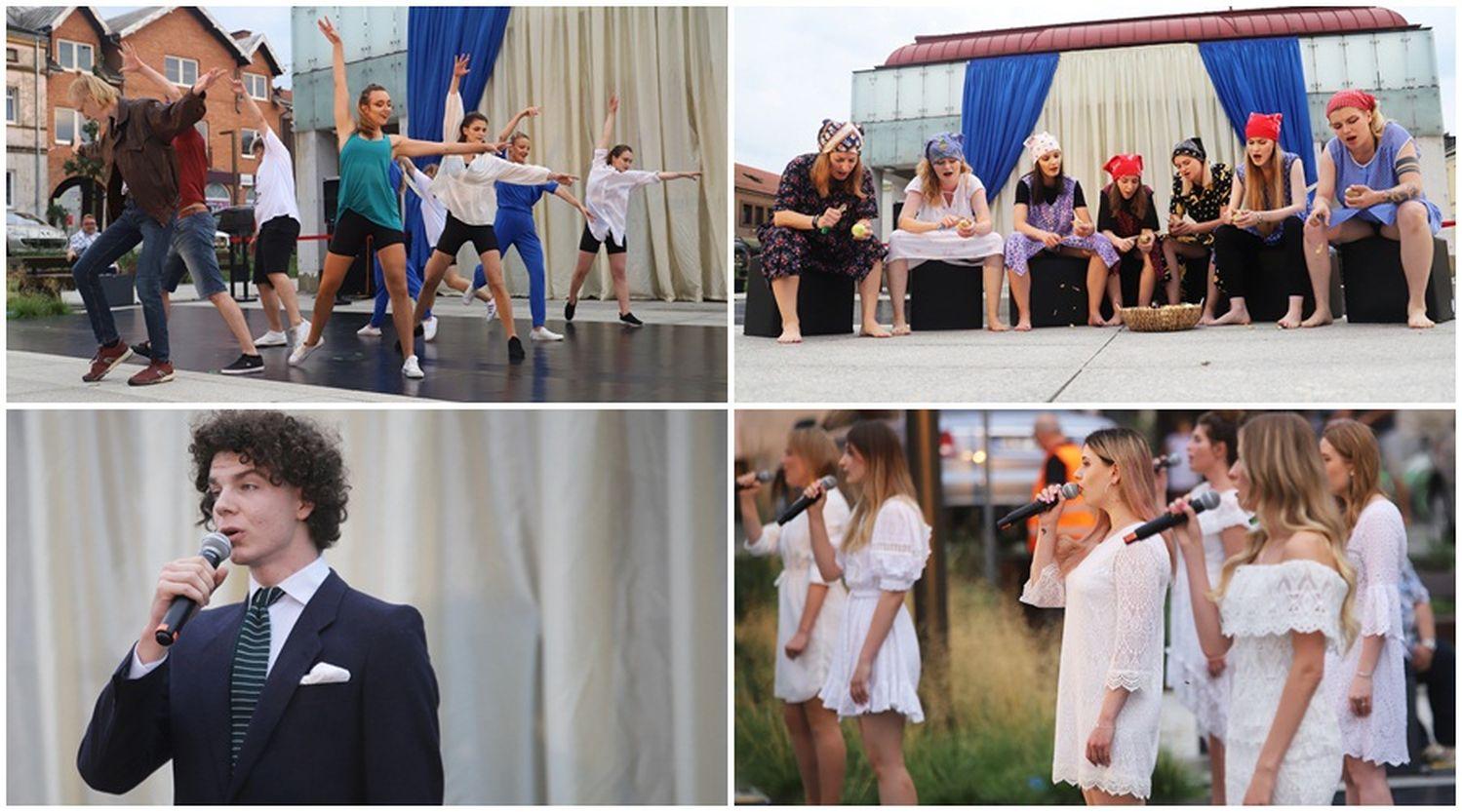 Taniec, śpiew i teatr w sercu Kutna. Talenty zachwyciły na Rynku Zduńskim [ZDJĘCIA] - Zdjęcie główne