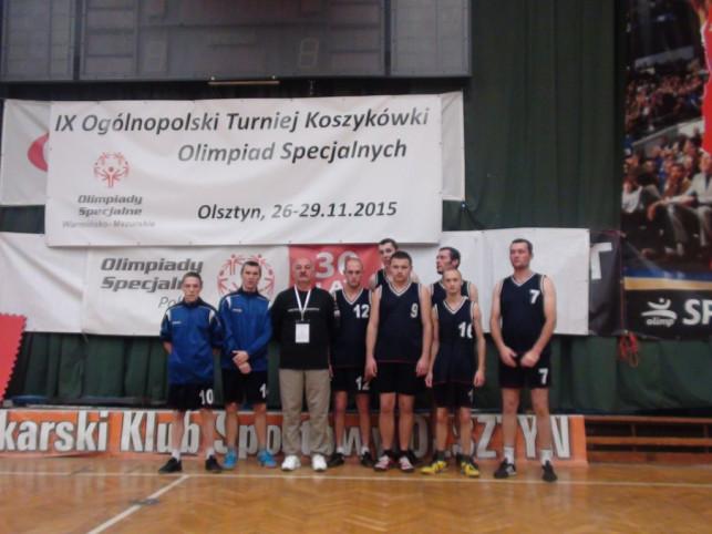 Srebro koszykarzy SOSW Kutno - Zdjęcie główne