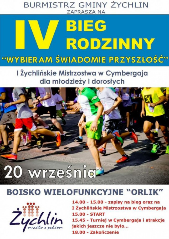 IV Bieg Rodzinny w Żychlinie - Zdjęcie główne