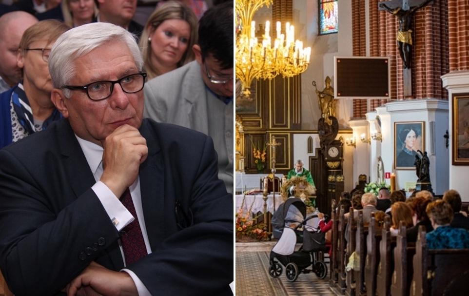 """Lewica chce zamknięcia kościołów na święta. Poseł Woźniak: """"To czysto esbecka metoda działania"""" - Zdjęcie główne"""