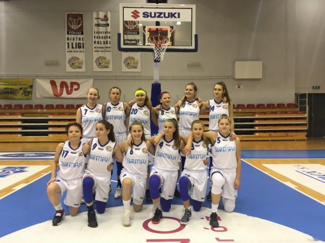Kadetki KKS Pro-Basket Sirmax Kutno wygrywają w Głownie  - Zdjęcie główne