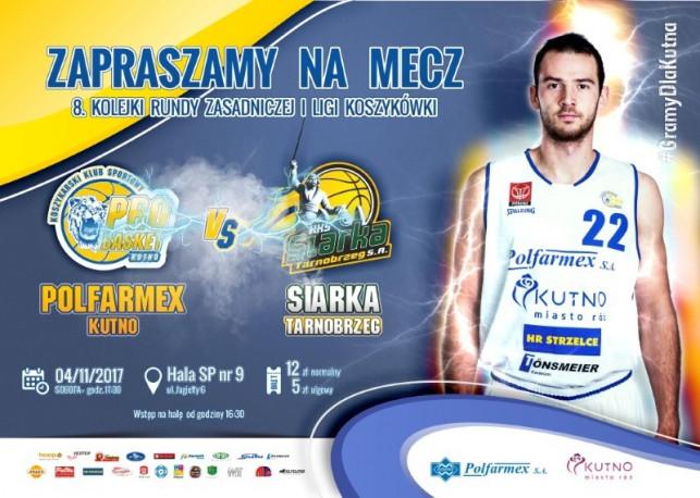 Mecz Polfarmex Kutno vs KKS Siarka Tarnobrzeg S.A. - Zdjęcie główne