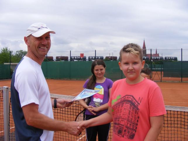 Letnia Akademia Tenisa Klubu Open - Zdjęcie główne