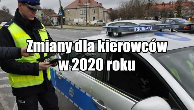 Większe uprawnienia policji i nowe mandaty: zmiany dla kierowców weszły w życie z nowym rokiem - Zdjęcie główne