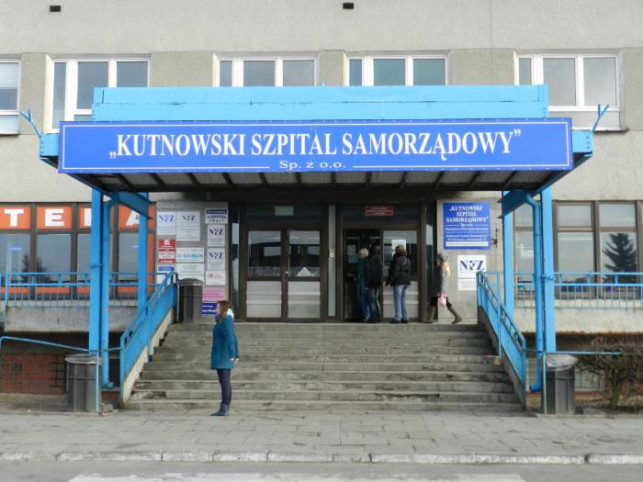 Kontrola NFZ w kutnowskim szpitalu - Zdjęcie główne