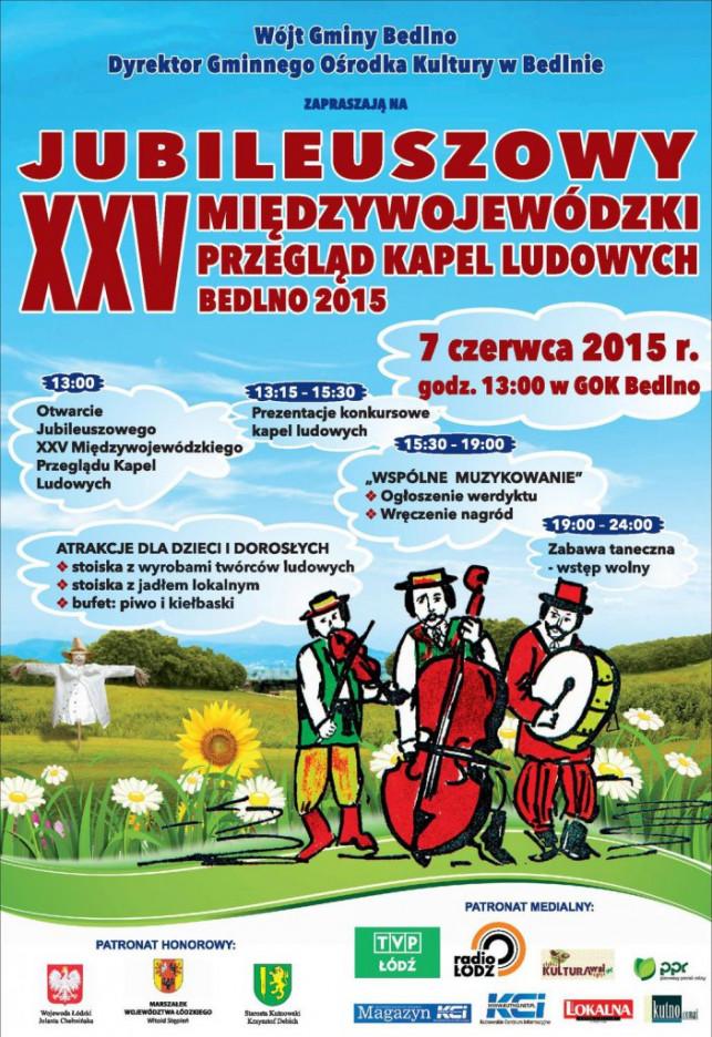 XXV Międzywojewódzki Przegląd Kapel Ludowych Bedlno 2015 - Zdjęcie główne