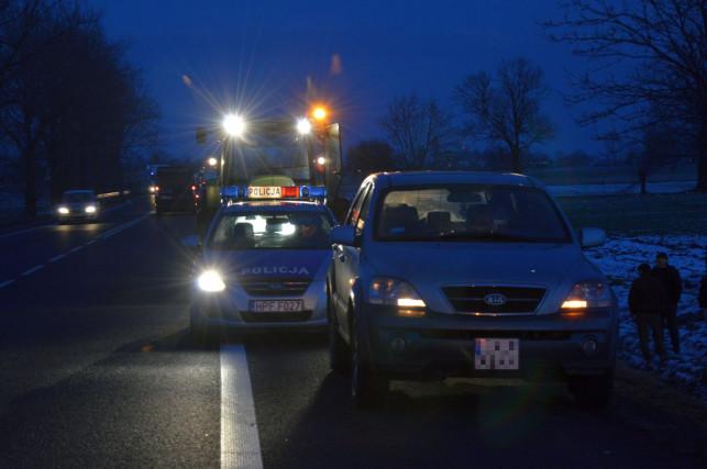 Kolizja w Wojszycach, auto wylądowało w rowie - Zdjęcie główne