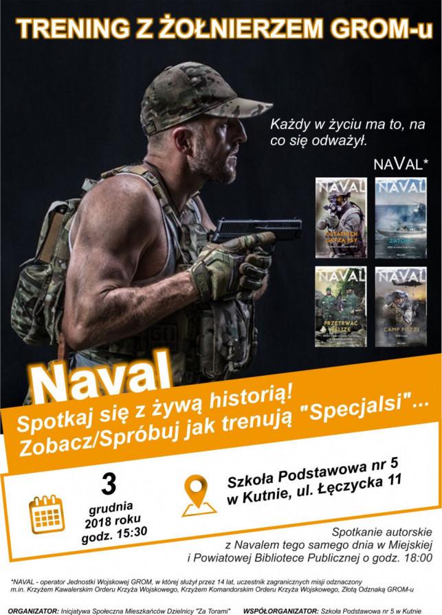 Trening specjalny z żołnierzem GROM-u - Navalem - Zdjęcie główne