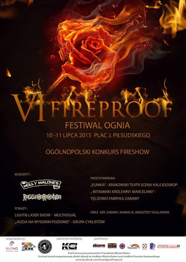 Pod naszym patronatem: Już dzisiaj rusza VI Festiwal Ognia Fireproof ! - Zdjęcie główne