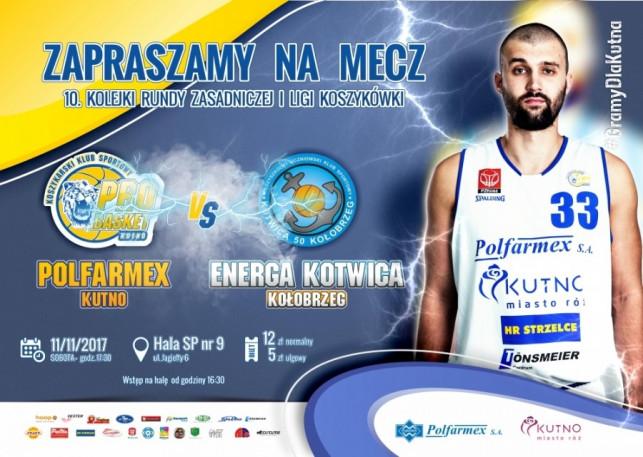 Sprzedaż biletów na mecz Polfarmex Kutno – Energa Kotwica Kołobrzeg  - Zdjęcie główne