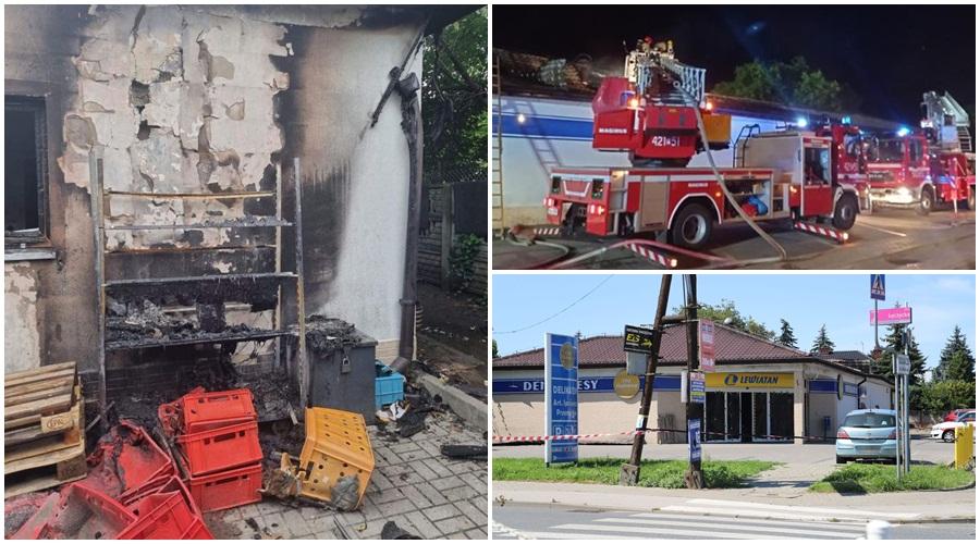 """Podpalenie sklepu w Kutnie. Właściciele: """"Odbudowa będzie kosztowna i długa"""" [ZDJĘCIA] - Zdjęcie główne"""
