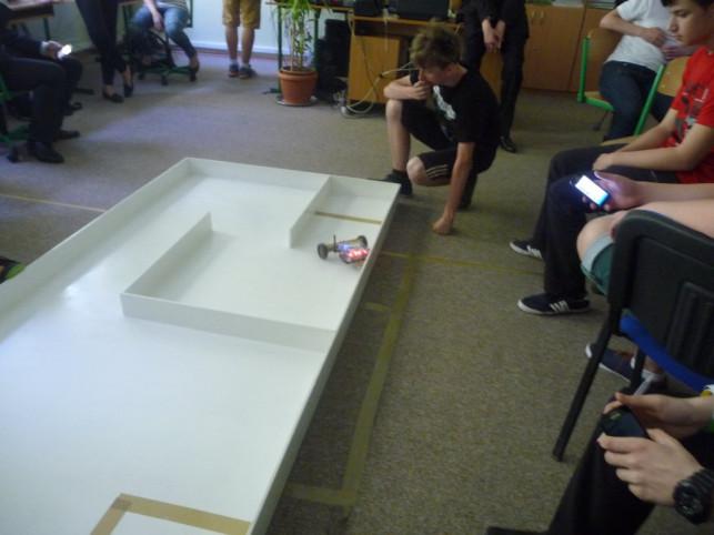 Zawody robotów w Gimnazjum nr 2 - Zdjęcie główne