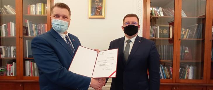 Tomasz Rzymkowski został wiceministrem! Jakie obowiązki na niego czekają? - Zdjęcie główne
