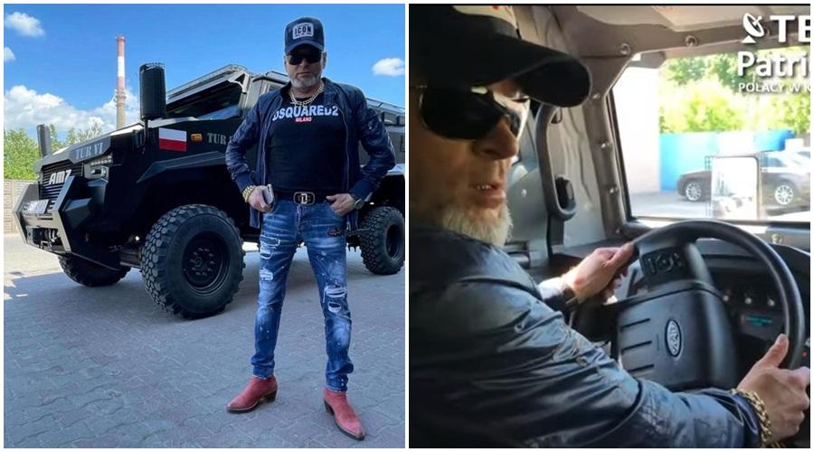 """Rutkowski kupuje wóz opancerzony z kutnowskiej firmy! Kilka milionów za """"Potwora"""" [WIDEO/ZDJĘCIA] - Zdjęcie główne"""