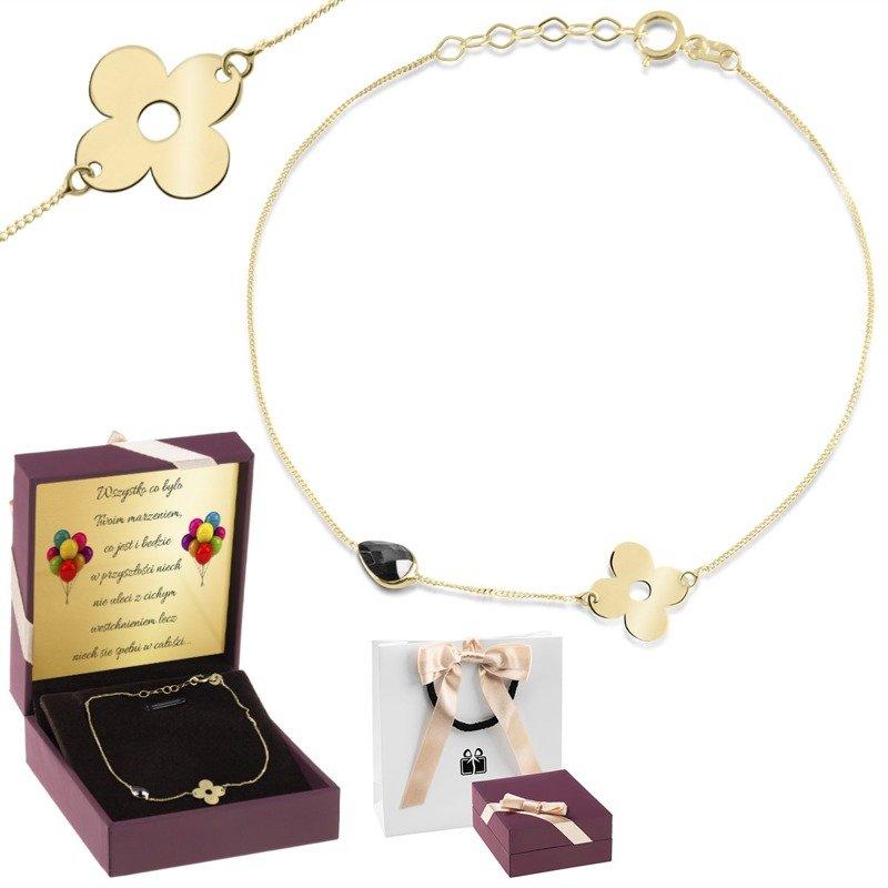 Bransoletka z grawerem - wyjątkowy prezent dla młodej damy - Zdjęcie główne