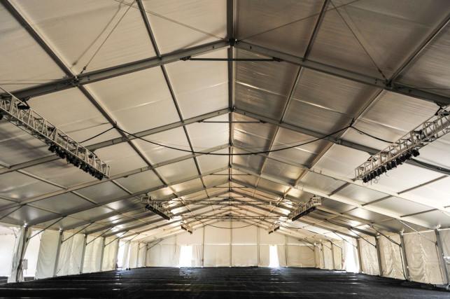 Kilka faktów o halach namiotowych - Zdjęcie główne