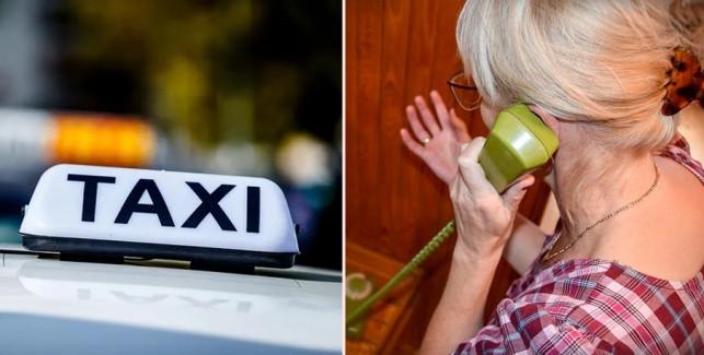 Chcieli oszukać seniorkę, po łapówkę wysłali... taksówkę. W porę pojawił się... - Zdjęcie główne
