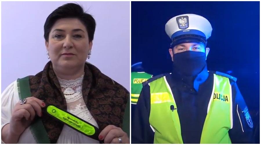 [WIDEO] Władze gminy Kutno i policja w trosce o bezpieczeństwo. Nagrali filmik - Zdjęcie główne