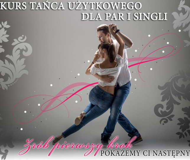 Przyśpieszony Sylwestrowy Kurs Tańca Użytkowego dla par i singli - Zdjęcie główne