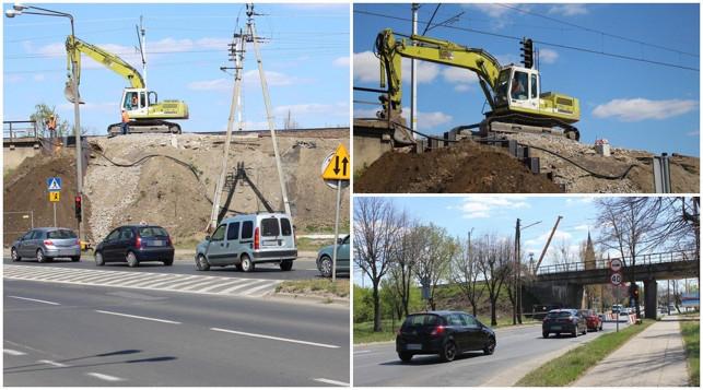 [ZDJĘCIA] Paraliż do końca października. Ruszyła przebudowa wiaduktu kolejowego - Zdjęcie główne