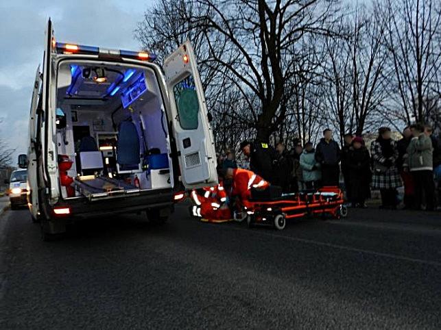 Nie ustąpiła na przejściu dla pieszych, potrąciła dwie kobiety  - Zdjęcie główne