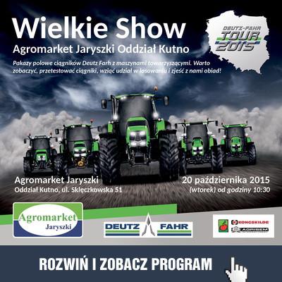 Wielkie Show w Agromarkecie Jaryszki! - Zdjęcie główne