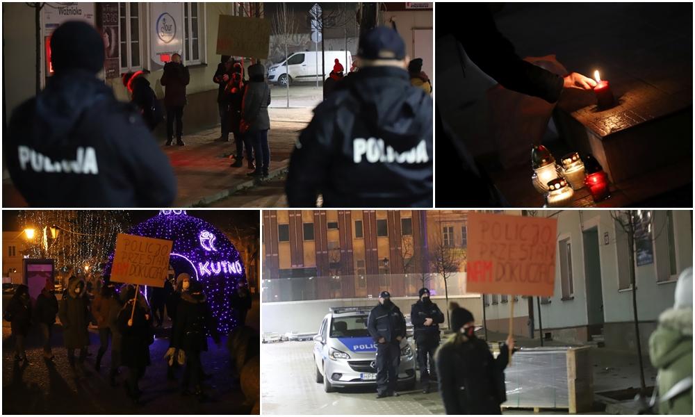 [ZDJĘCIA] Kutnianie znów wyszli na ulice. Przeciwko czemu protestowali tym razem? - Zdjęcie główne