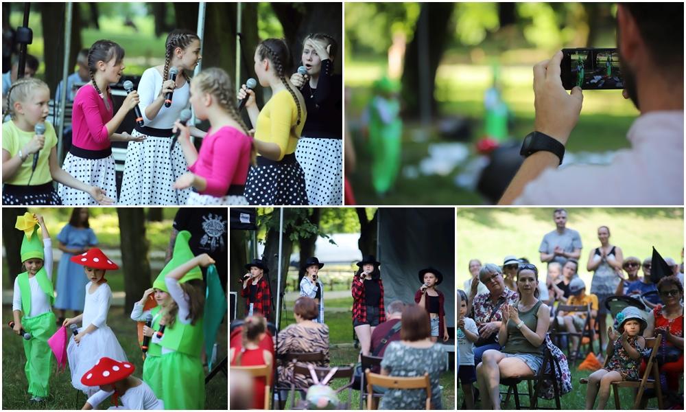 [ZDJĘCIA] Tańce, śpiewy i rodzicielska duma. Młode talenty opanowały Park Traugutta!  - Zdjęcie główne