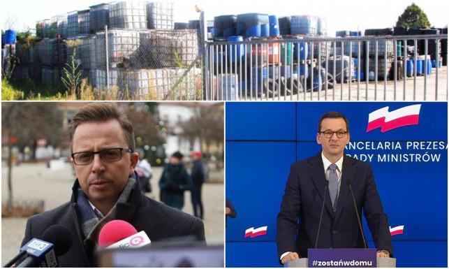 Poseł Joński alarmuje premiera ws. toksycznych odpadów. ''To może mieć opłakane skutki'' - Zdjęcie główne