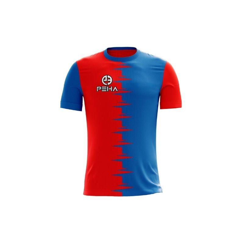Koszulki piłkarskie z nadrukiem polskiej marki sportowej PEHA – tanie rozwiązanie dla klubów i szkółek piłkarskich - Zdjęcie główne