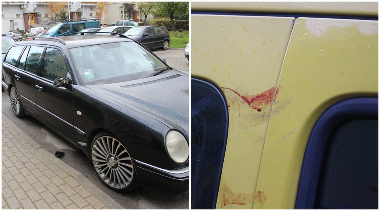 [ZDJĘCIA] Demolka w Kutnie. Uszkodzone samochody, ślady krwi na karoserii - Zdjęcie główne