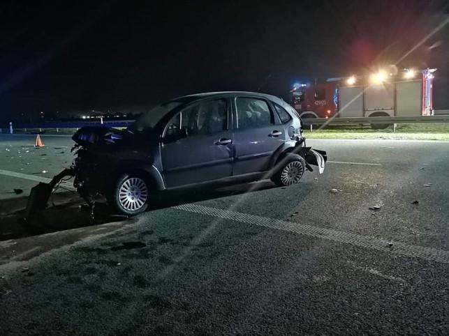 Groźnie na A1: dwa wypadki na jednym odcinku, służby w akcji  - Zdjęcie główne