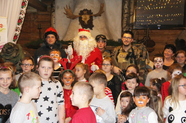 Mikołaj znów zawitał do Basiora - Zdjęcie główne