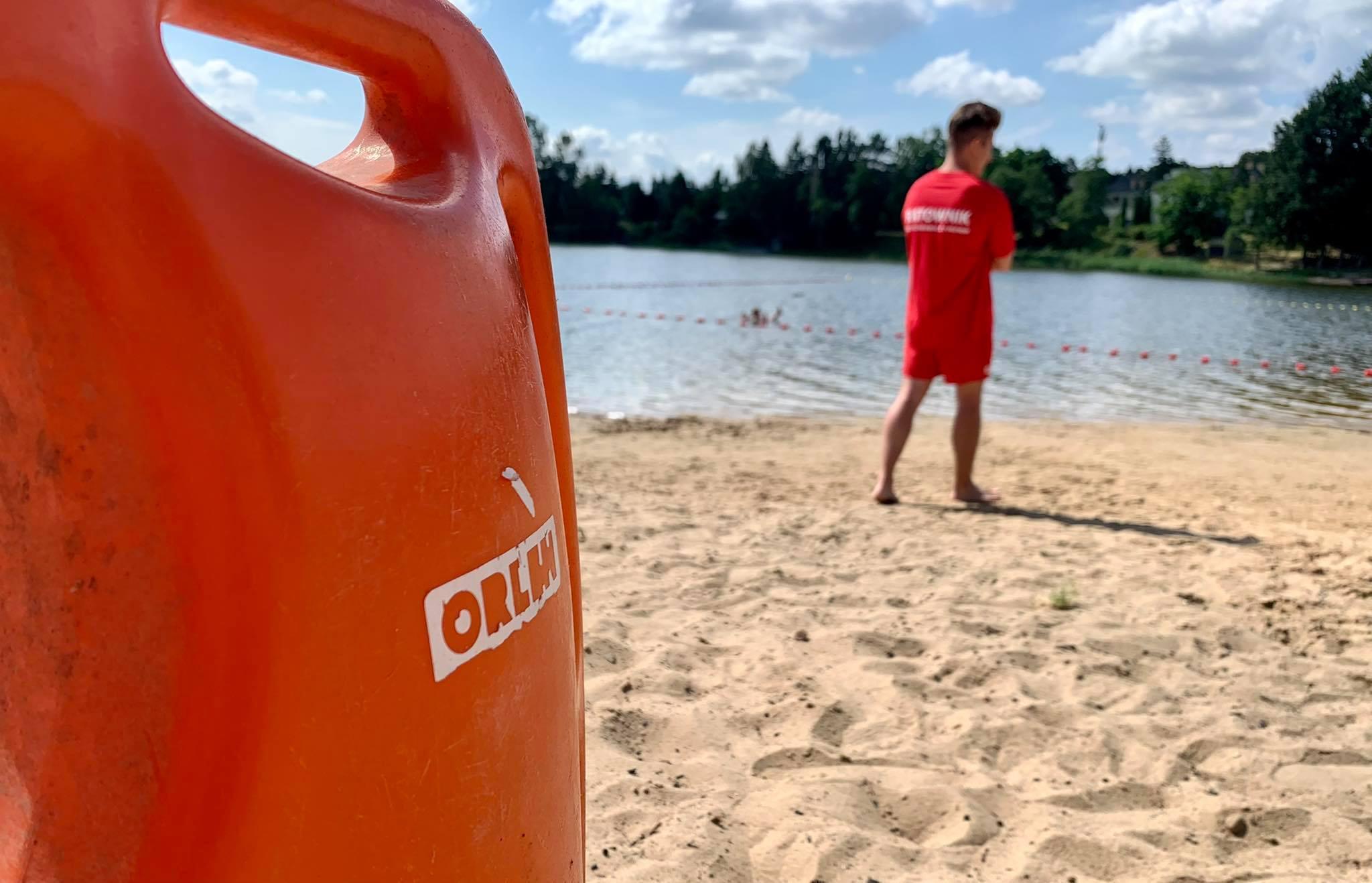 PKN Orlen i WOPR zapraszają do Grabiny. Kąpielisko oficjalnie otwarte [ZDJĘCIA] - Zdjęcie główne